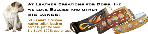 Leather Creations for Dogs